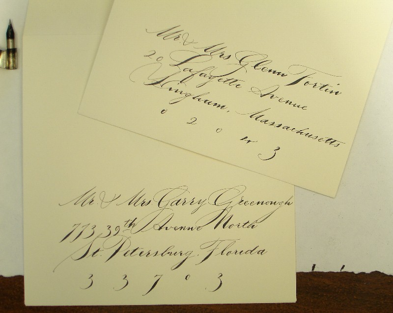 Calligraphy services
